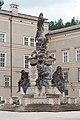 Salzburg - Altstadt - Domplatz Mariensäule - 2020 05 20-1.jpg