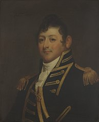 Commodore Isaac Hull  (1773-1843) (copy after GilbertStuart)
