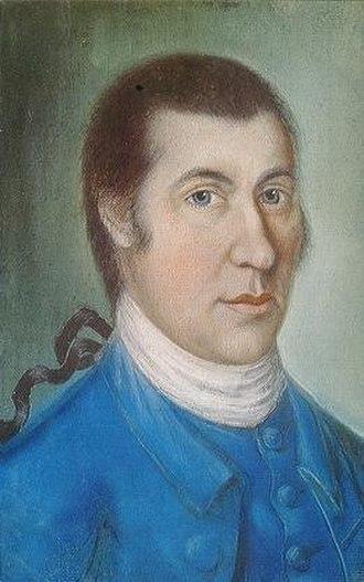Samuel McIntire - Samuel McIntire, c. 1786, pastel portrait attributed to Benjamin Blyth