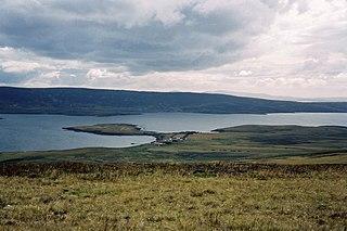 San Carlos, Falkland Islands human settlement