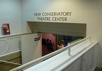 New Conservatory Theatre Center - Entrance to NCTC