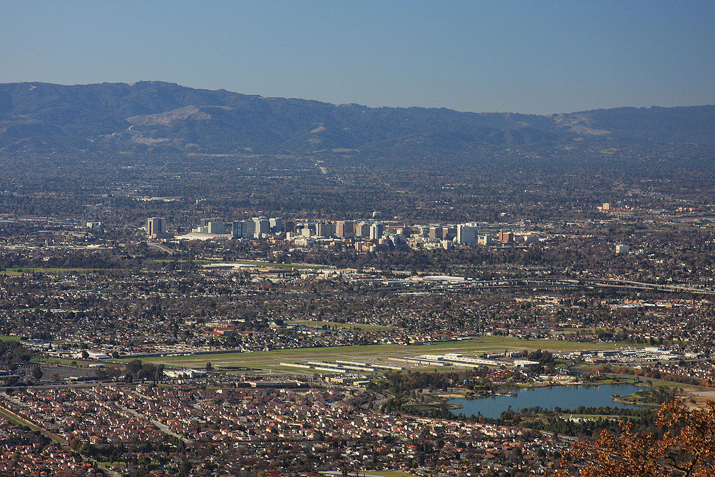 Image result for SILICON VALLEY SKYLINE in SAN JOSE CALIF