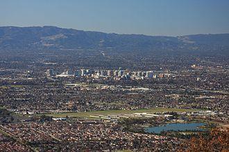 Santa Clara Valley - San Jose is the major city of the South Bay