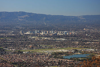 San Jose California Skyline