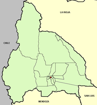 San Juan province (Argentina), departments and capital.png