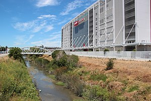 Levi's Stadium - San Tomas Aquino Creek next to Levi's Stadium