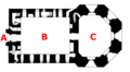 Sandsfoot Castle plan - labelled.png
