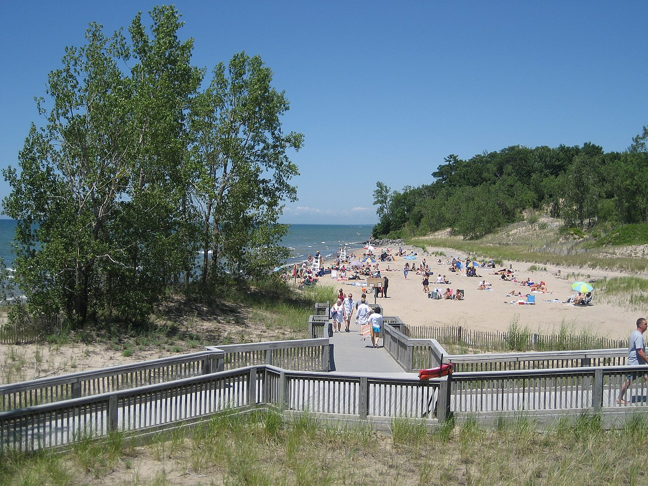 Sandy Beach Lake Iron County Wi