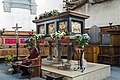 Santa Giustina (Padua) - Chapel of Saint Luke - Tomb of Luke the Evangelist (front).jpg