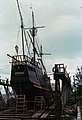 Santa Maria on repair ways in Key West (7349143586).jpg
