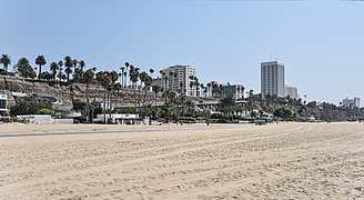 Santa Monica, California, beach and coastal bluffs.jpg