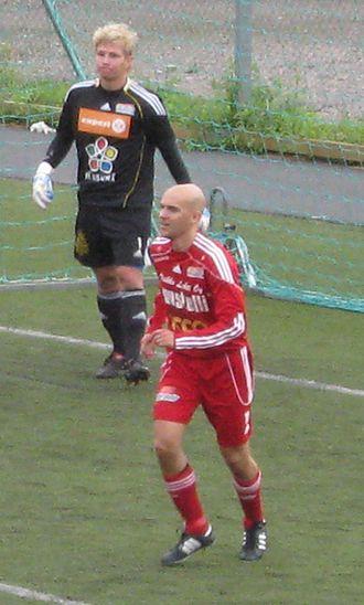 Matti Santahuhta - Image: Santahuhta Nieminen FC Jazz