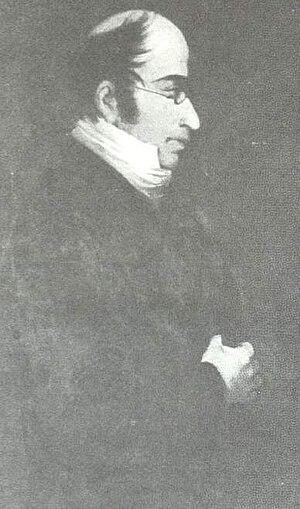 Annibale Santorre di Rossi de Pomarolo, Count of Santarosa - Portrait of Santarosa.