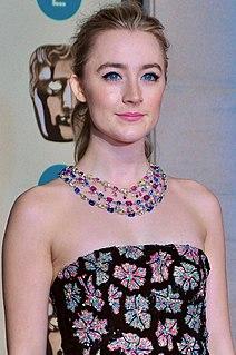 Saoirse Ronan Irish and American actress