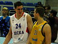 Sasha Kaun and Sergei Monia at all-star PBL game 2011.JPG