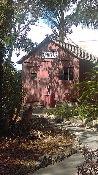 Florida Institute of Technology - One of the oldest buildings on campus: a schoolhouse built in 1883.