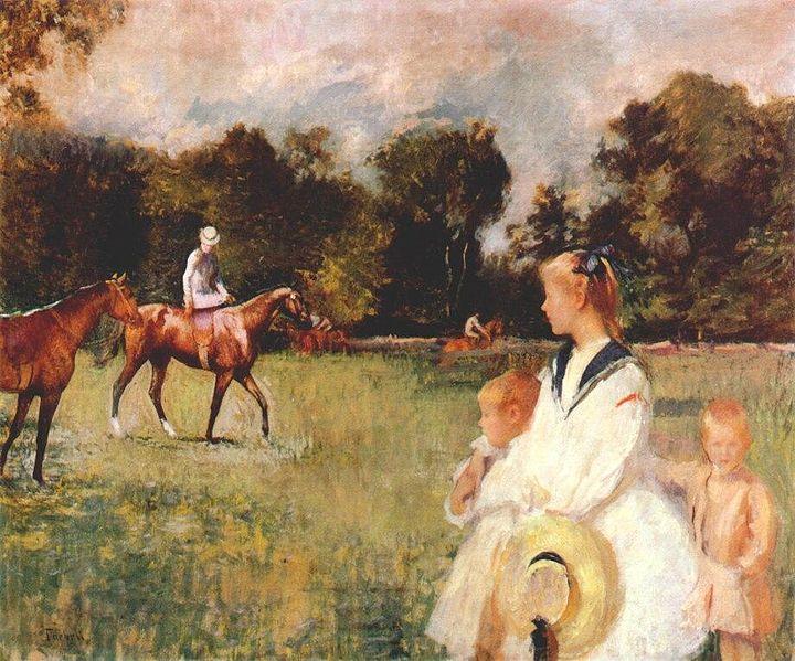 File:Schooling the Horses.jpg