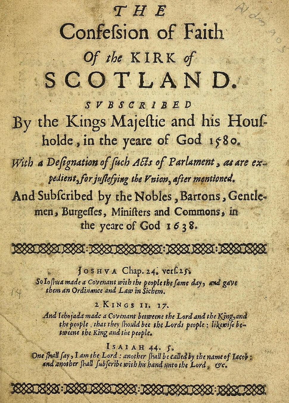 Scots Confession