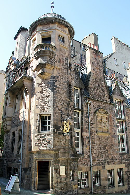 Writers' Museum, Edinburgh, Skotlandia.