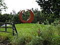 Sculpture Trim Trail car park, Coleraine - geograph.org.uk - 2022129.jpg