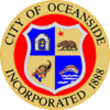 Official seal of Oceanside, California