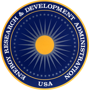 Energy Research and Development Administration - Image: Seal of the United States Energy Research and Development Administration