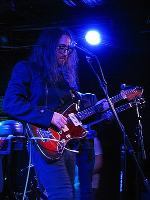 Sean Lennon - Lennon performing at The Saint in Asbury Park, New Jersey in September 2013