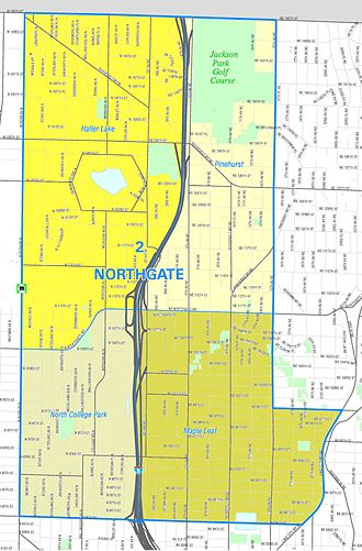 Northgate, Seattle - Northgate, from the Seattle City Clerk's Office Neighborhood Atlas