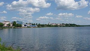 Sebezh - Panorama of Sebezh