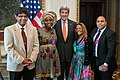 Secretary Kerry Poses for a Photo With Individuals Committed to Ending Modern Slavery (30428187372).jpg