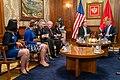 Secretary Pompeo Meets President Milo Djukanovic (48841329196).jpg