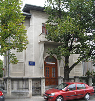 Evangelical Church of Romania - Church headquarters (1926), in Bucharest's Cotroceni quarter, near the Carol Davila University of Medicine and Pharmacy.