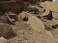 Sehel Island cut stone with tool marks 2006.jpg