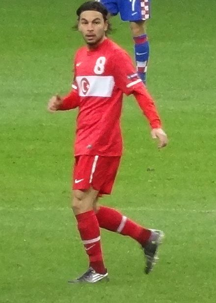 Selçuk playing for Turkey in 2011 Selçukİnan.jpg
