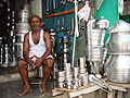 Seller of Pots and Pans - Tiruvannamalai - India.JPG