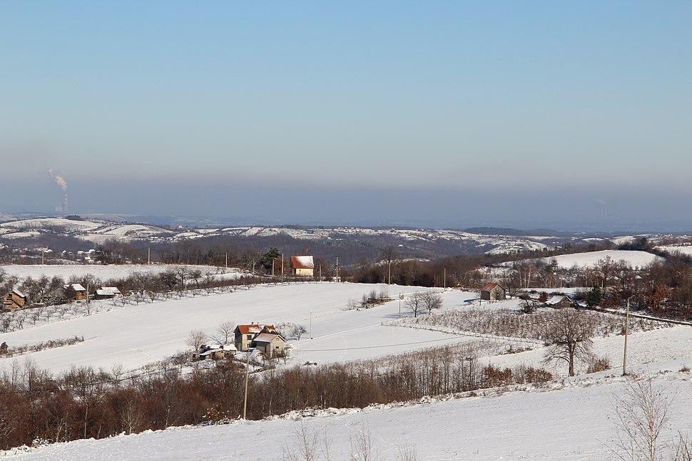 Selo Ogladjenovac - opština Valjevo - zapadna Srbija - panorama 10