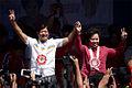 Senators Miriam Defensor-Santiago and Bongbong Marcos in Batac City 160209.jpg