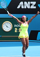 Serena Williams at the Australian Open 2015.jpg