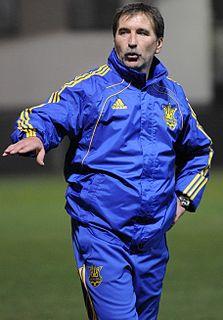 Serhiy Krakovskyi Soviet and Ukrainian footballer and coach