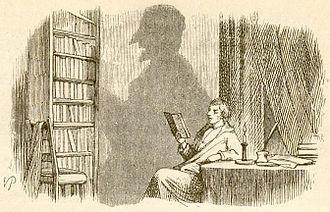 The Shadow (fairy tale) - Vilhelm Pedersen illustration