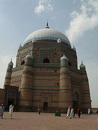 Mausoleum of Sheikh Rukh-e-Alam (1320 AD)