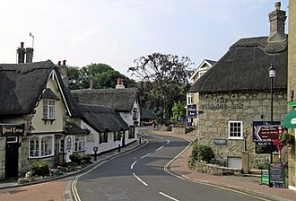Shanklin - Image: Shanklin Old Village geograph.org.uk 13237
