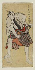Ichikawa Tomiemon as Inokuma Monbei