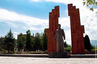 Stepan Shaumian - Monument to Stepan Shahumyan in Stepanavan, Lori Province