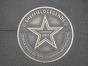 Jessica Ennis-Hill - Walk of Fame