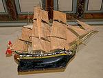 Ship model Hedrum Church.JPG