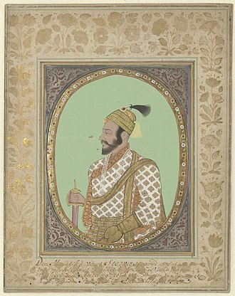 Shivaji - Shivaji's portrait (1680s) in the Rijksmuseum