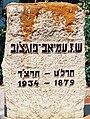 Shneur Zalman Pugachov's gravestone in Merhavia.jpg