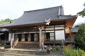 Shonenji Temple, Takachiho - Image: Shonen ji Hon do