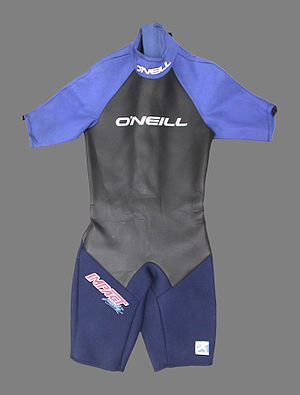 classic shorty wetsuit by O'Neill (around 1995)